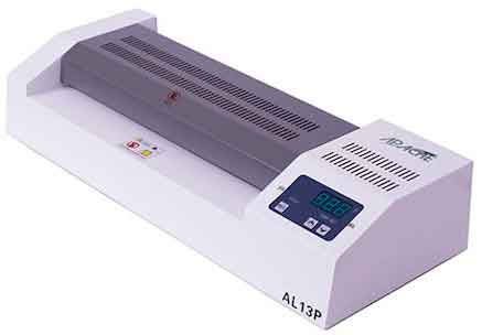 Photo: Apache AL13P pouch laminator