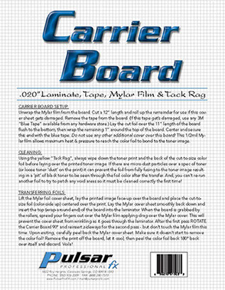 Photo: Carrier Board kit