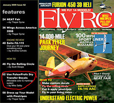 "Photo: Cover of ""Fly R/C"" magazine"