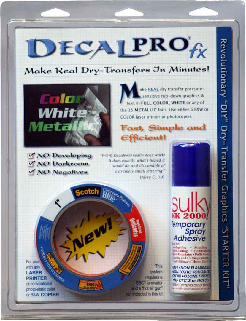 Photo: DecalPro Starter Kit